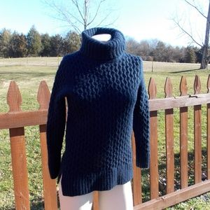 J. Crew Wool Blend Turtleneck Sweater Size XS
